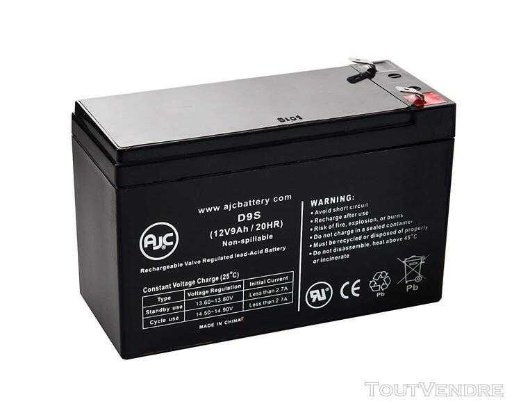 Piles de remplacement pour onduleur batterie apc be700-rs 12