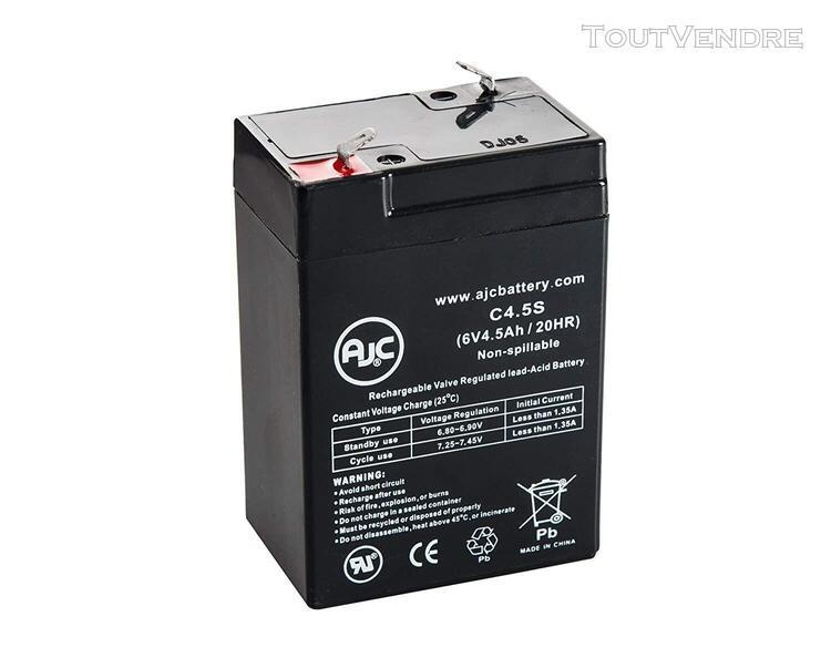 Piles de remplacement pour onduleur batterie b&b bp4.5-6 t2