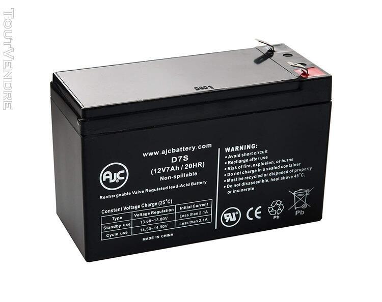 Piles de remplacement pour onduleur batterie diatek diatek 1