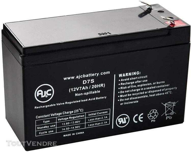 Piles de remplacement pour onduleur batterie hkbil 6fm6.5 12