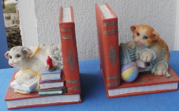 Serre livres avec des chats décoratifs occasion, montauban