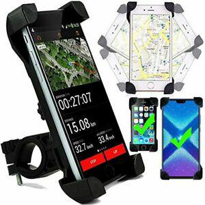 Support smartphone guidon velo moto scooter, telephone