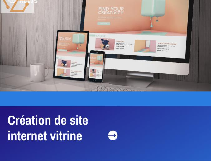 Création de site internet vitrine