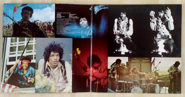 Disque vinyle jimi hendrix the cry of love 1971 barclay 080.