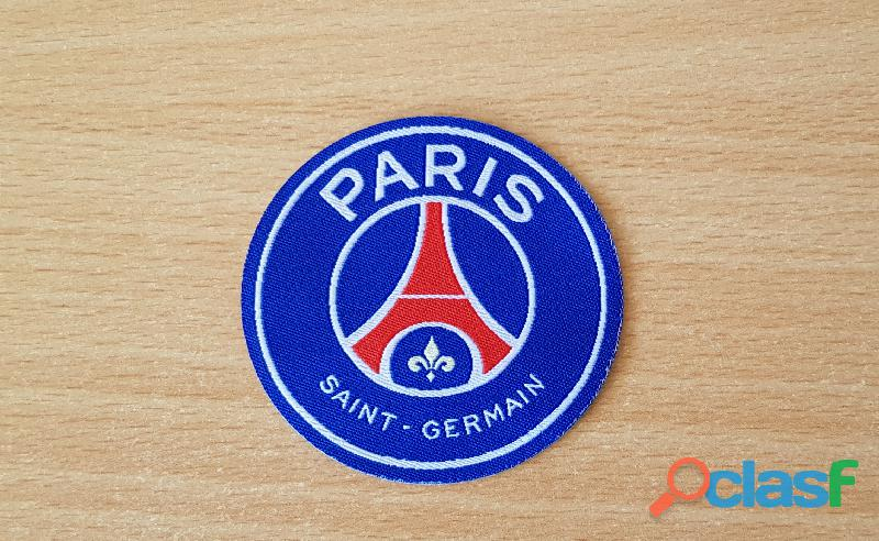 ecusson en tissu PSG paris saint germain Diamètre 6,5 cm thermocollant