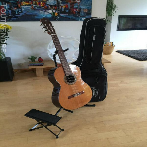 Guitare alhambra pour gaucher 3c senorita (7/8) avec