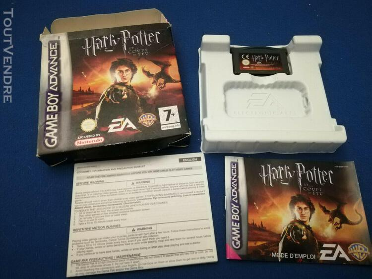 Harry potter et la coupe de feu - gba - gameboy advance