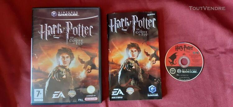 Harry potter et la coupe de feu - nintendo gamecube - pal