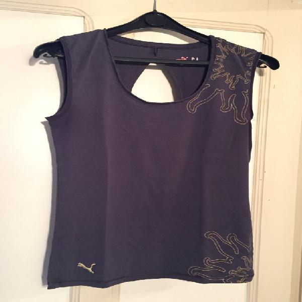 Haut fitness puma noir t.42 occasion, jonquières (84150)