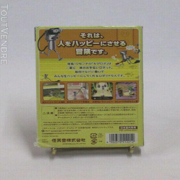 Jeux video chibi robot gc nintendo gamecube japonaise