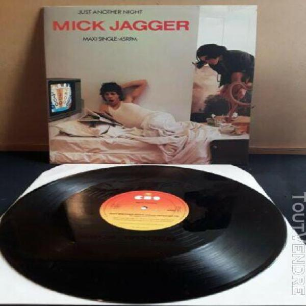 Mick jagger - just another night - maxi 45 promotion ref