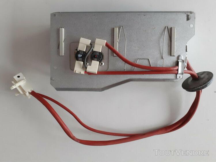 125753214 arthur martin electrolux résistance 1400w 800w