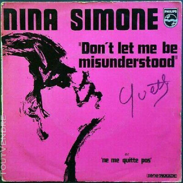 45t nina simone - don't let me be misunderstood