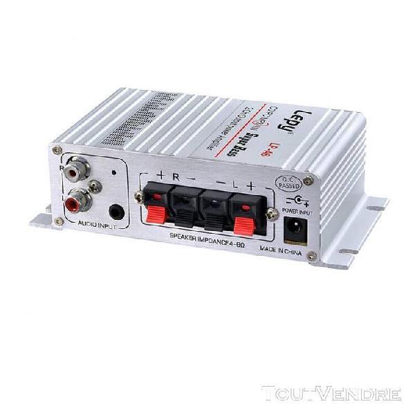 Amplificateur lepy auto moto mp3 mp4 hi-fi audio stéréo