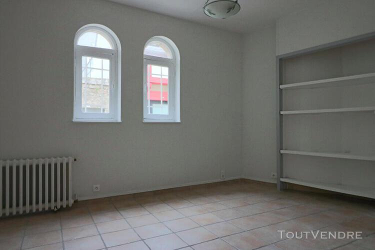 Appartement t2 en duplex - centre ville - 31.81m²