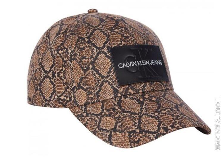 Calvin klein chapeaux base-ball femme marron k60k606887