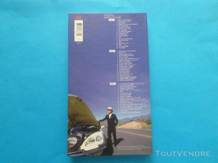 Cd long box 3 cd de eddy mitchell en très bon etat