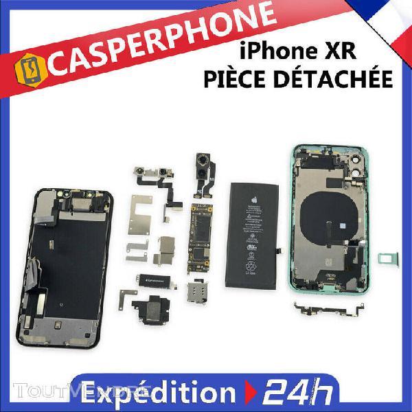 Iphone xr chassis ecran batterie camera nappe écouteur