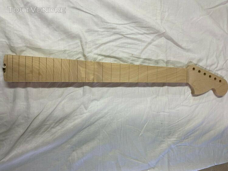 "Manche de guitare ""type stratocaster"" unfinished"