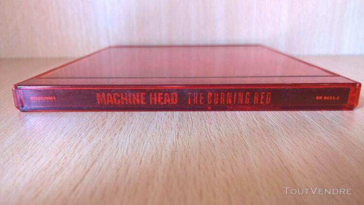 The burning red - machine head (cd)