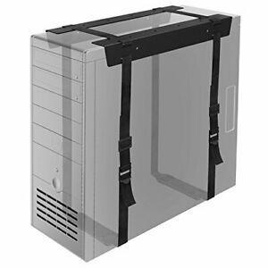 Bontec sous le bureau pc cpu holder straps computer tour
