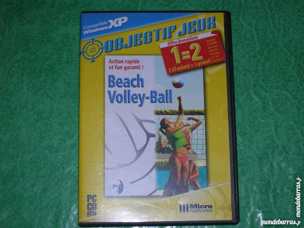 """Cd rom pc jeu """""""" beach volley"""" occasion, saleilles (66280)"""