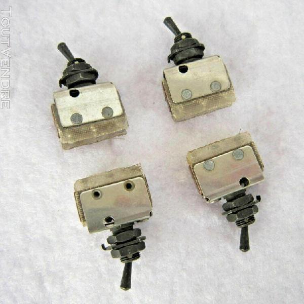 Interrupteurs a 2 positions, no + nf - type va et vient (lot