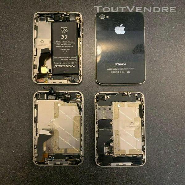 Lot de 4 iphone 4 hs et semi-hs