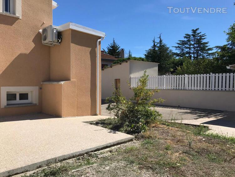 Maison t4 avec garage et jardin à chaponost