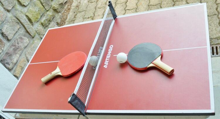 Mini table tennis de table / dim ouverte 82 x 51,5 x h 7,5