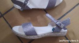 Sandales compensées femme t40