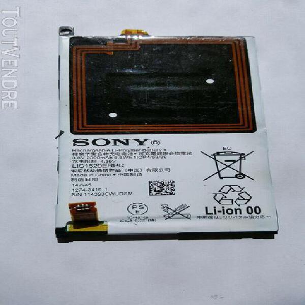 Sony lis1529erpc batterie pour sony xperia z1 compact