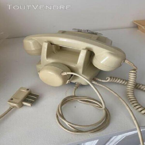 Telephone socotel s63 ivoire a cadran- 1982
