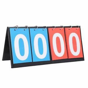 2/3/4 chiffre sports tableau scoreboard, de score 4