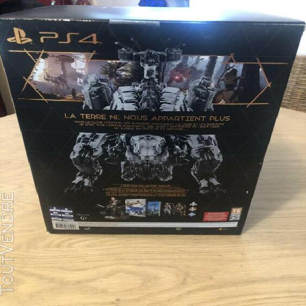 Horizon zero dawn collector's edition ps4 (vendu sans le jeu