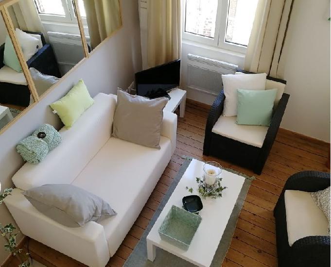 Location appartement f4 duplex cayeux sur mer