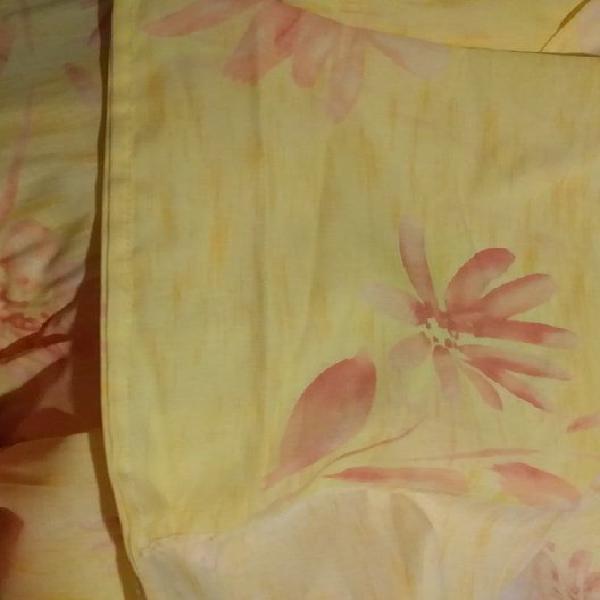 Paire de double rideaux occasion, poilley (50220)