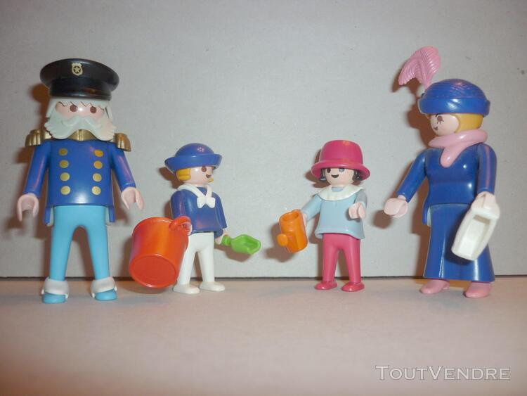 Playmobil: personnages famille 1900 (réf. 5507-a)