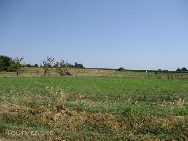 Sud marmande, terrain en campagne