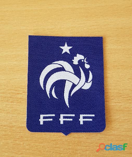 ecusson en tissu fédération française de football fff ancien modèle coupe du monde 98 thermocollant