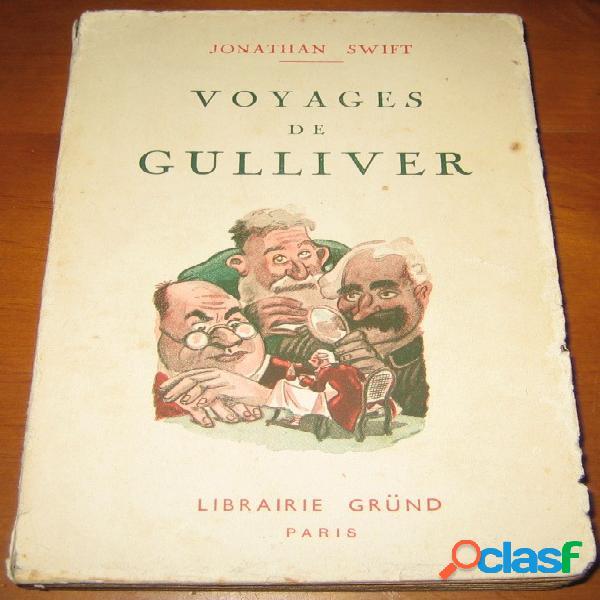 Voyages de gulliver, jonathan swift