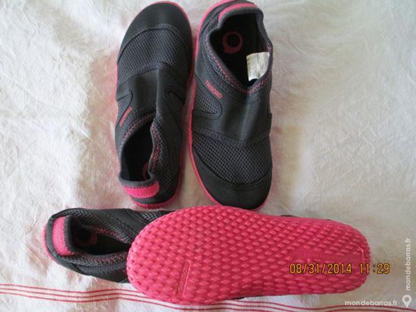 Femme 36/37 et 34/35 chaussures nautiques tribord occasion,