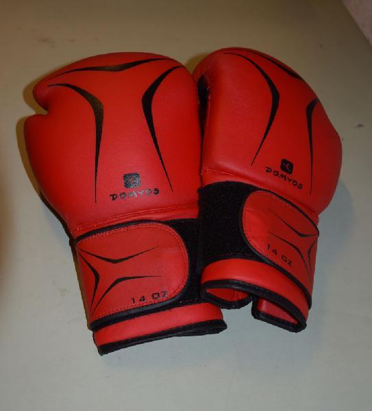 Paire de gants de boxe domyos - taille 14 - comme neuf