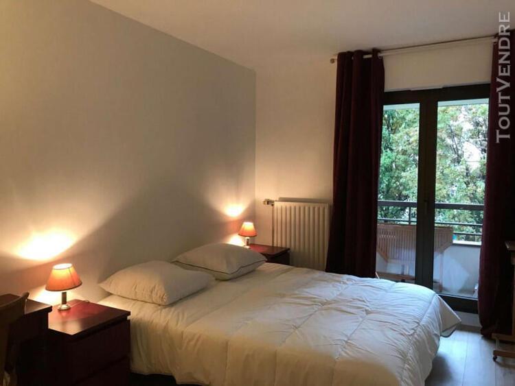 2 pièces 60 m² avec balcons et parking