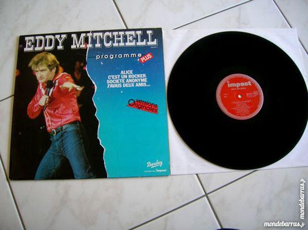 33 tours eddy mitchell programme plus neuf/revente, nantes