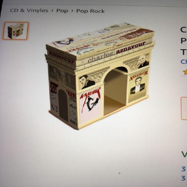 L intégrale de charles aznavour packaging de luxe neuf,