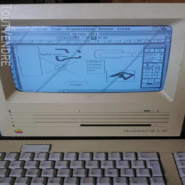 Macintosh se 1/40, apple, bon état de marche, works