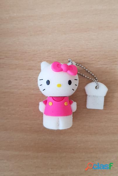 Clé usb 8 go chat rose hello kitty