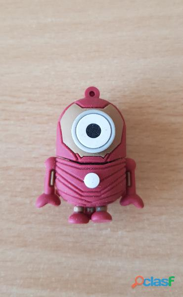 Clé usb 8 go minion jerry iron man moi moche et méchant