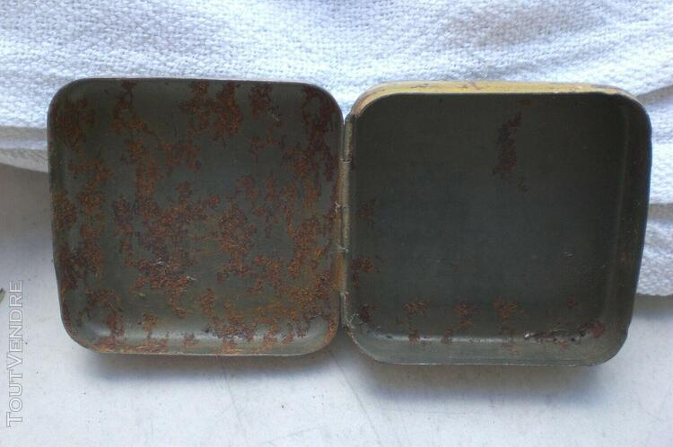 ancienne toute petite boîte vermi bonbons berger